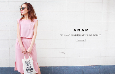 '16 ANAP SUUMER NEW LINE DEBUT